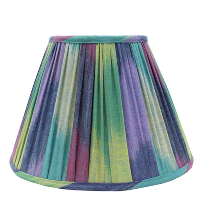 "10"" Antique Fabric Shade"