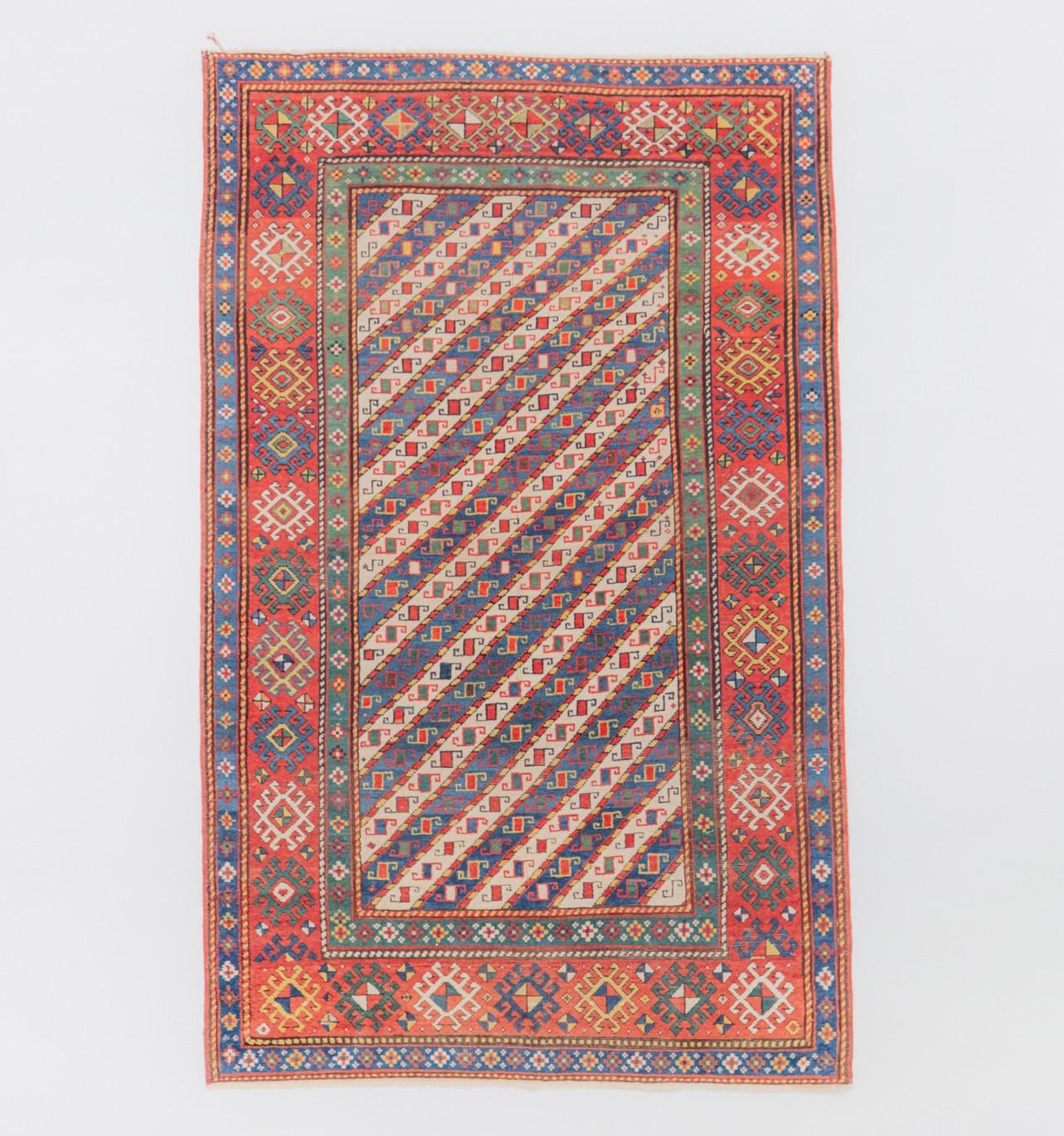 A mid 19th century Caucasian carpet, Circa 1840