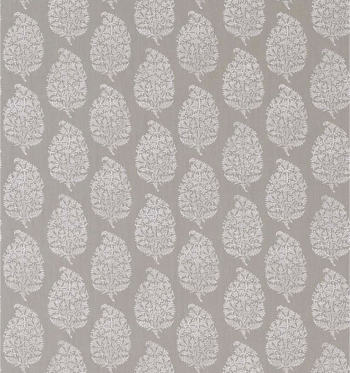 Indian Pear White on Grey