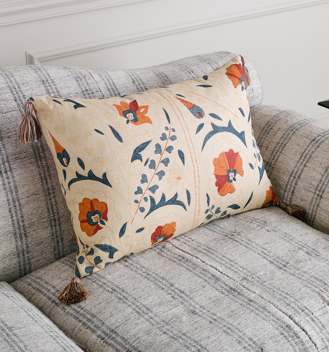 Susani Red Cushion