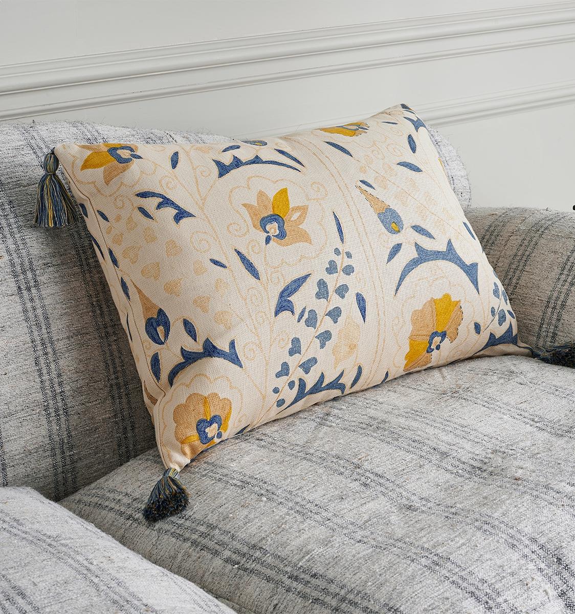 Susani Yellow Cushion
