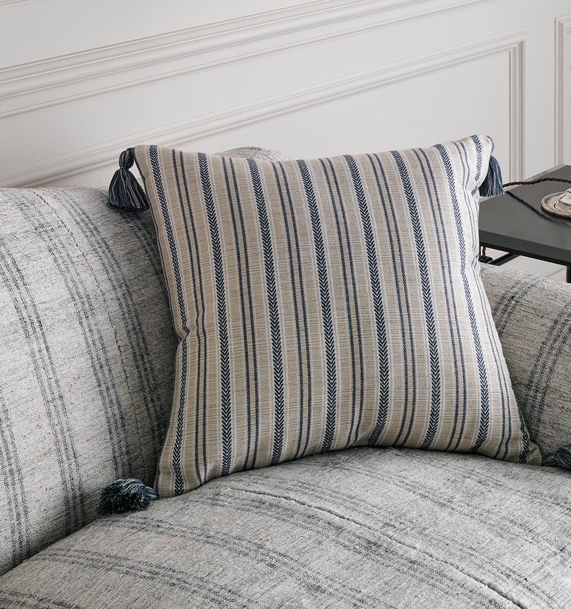 Larsson Blue Cushion