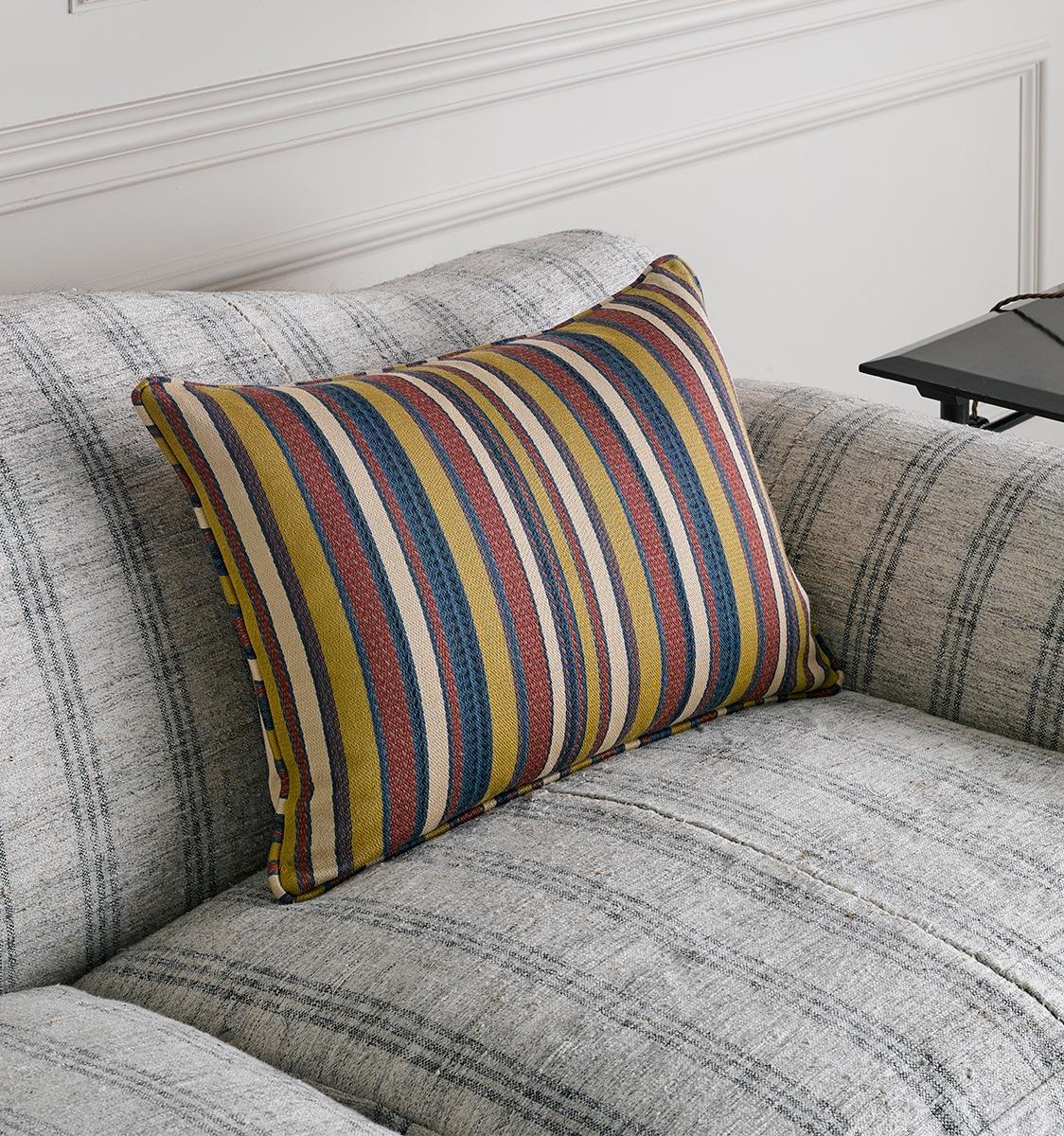 Turkoman Stripe Fabric Cushion