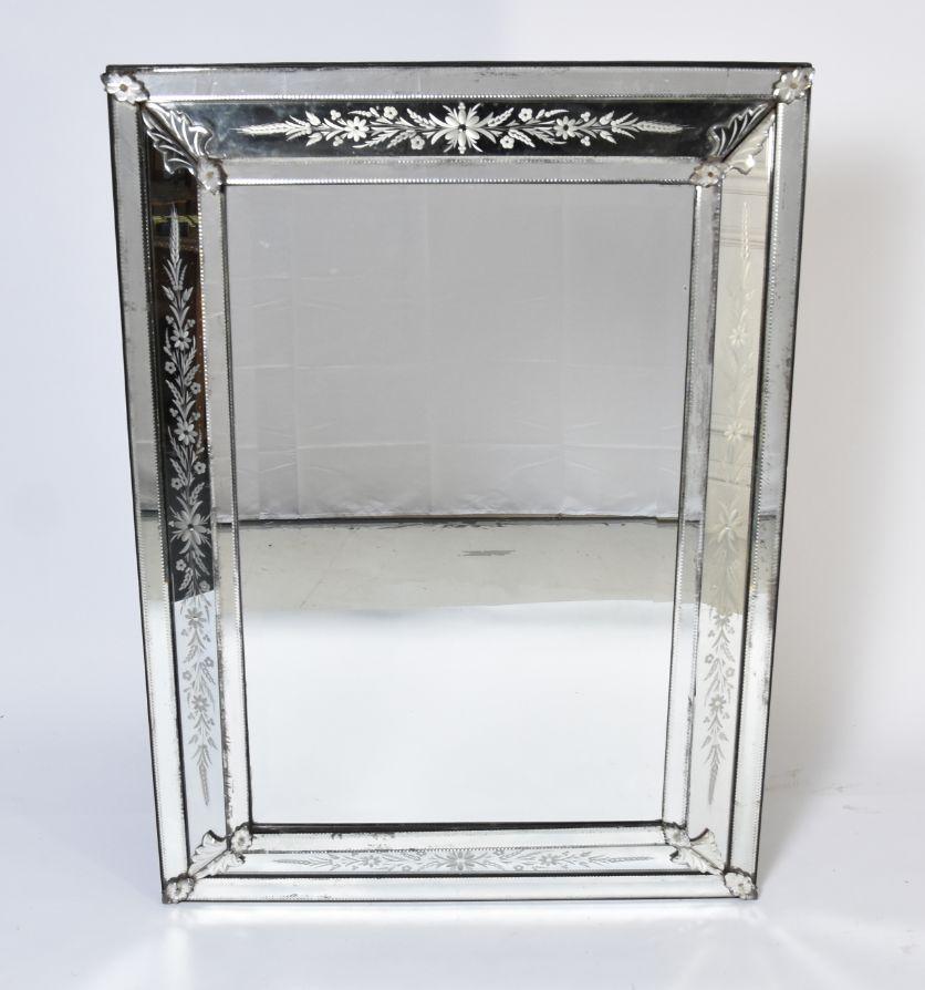 A Venetian mirror